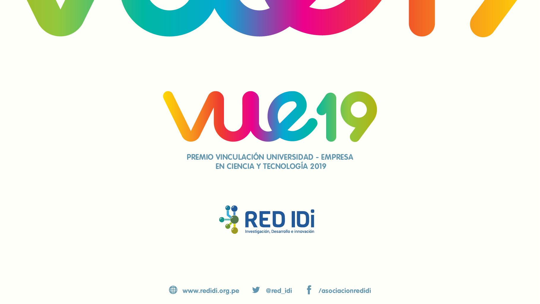 Premio a la Vinculación Universidad Empresa en Ciencia y Tecnología 2019