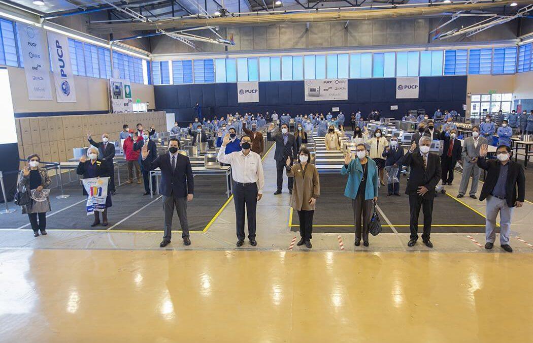 Presidente Vizcarra en la PUCP: galería y detalles de la donación de 150 ventiladores MASI