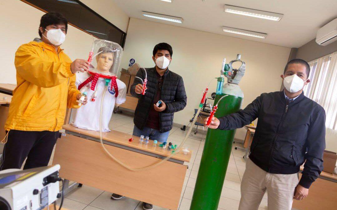 Científico UNI propone el uso masivo de cascos CPAP certificados en el tratamiento del COVID-19