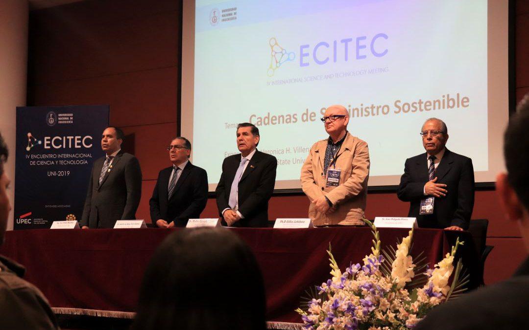 33 investigadores UNI y del exterior disertarán en Encuentro Internacional de Ciencia y Tecnología