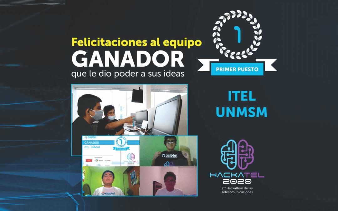 Sanmarquinos ganan concurso de telecomunicaciones organizado por Osiptel