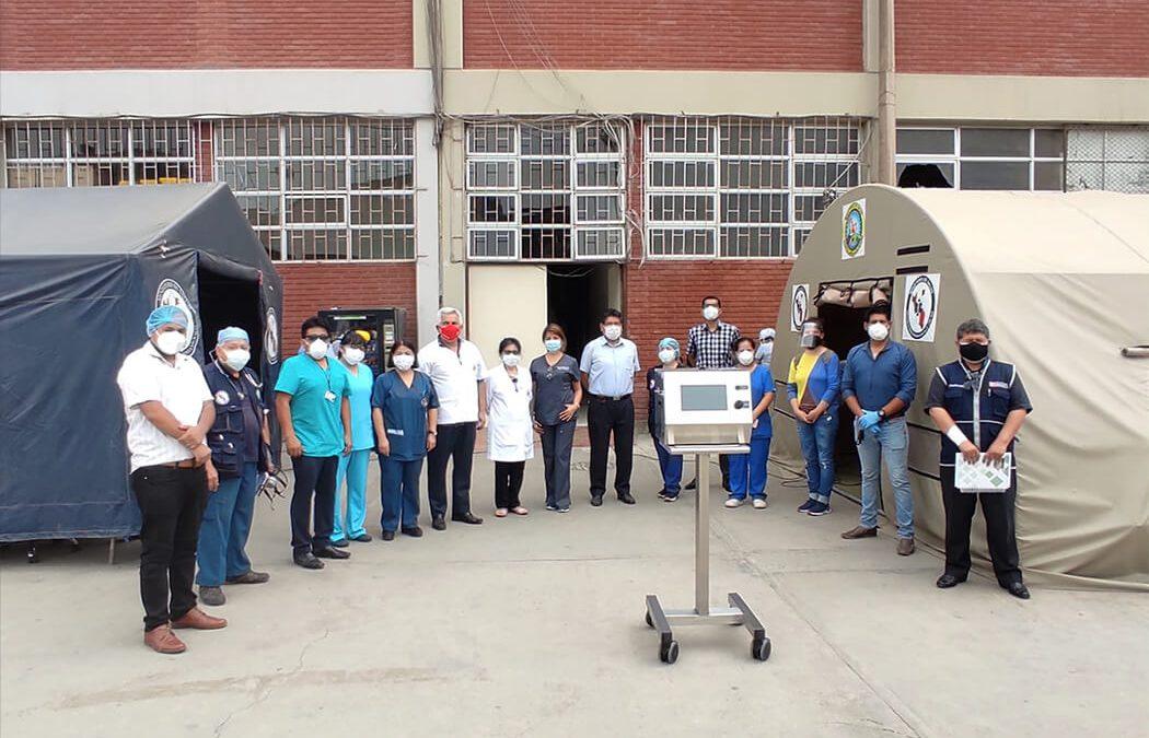 Ventiladores MASI de la PUCP ya son usados por pacientes de COVID-19 en hospitales de Lima