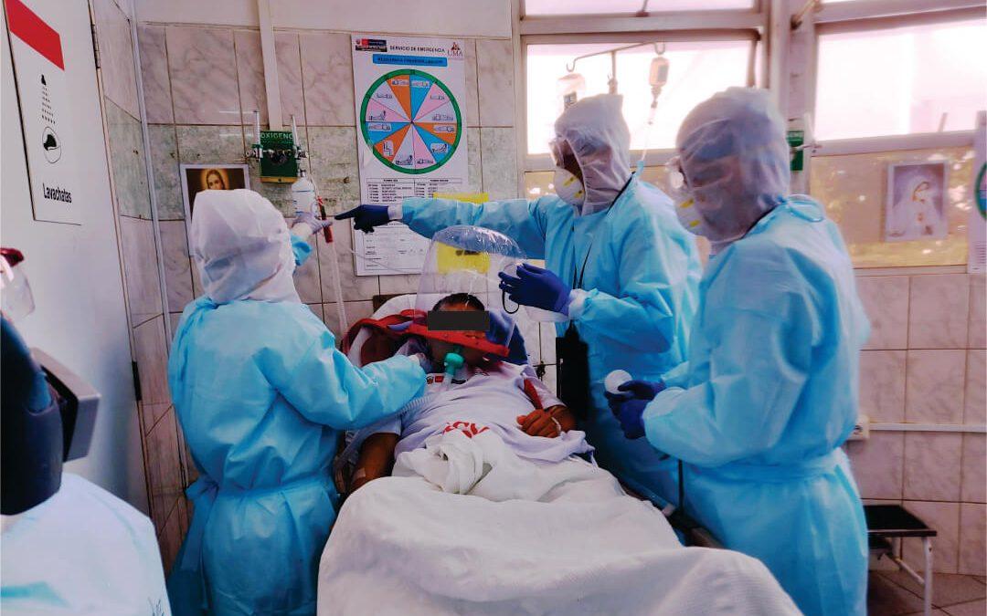 """COVID-19: """"Pacientes críticos pueden esperar camas UCI usando el Casco CPAP de alto flujo"""""""