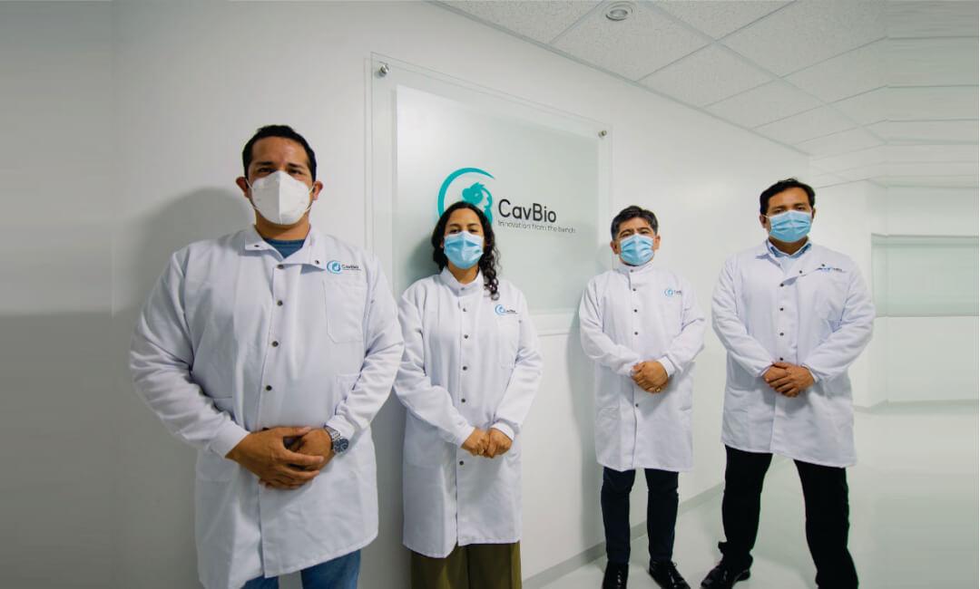 CavBio: investigadores sanmarquinos desarrollan planta nacional de producción de pruebas moleculares