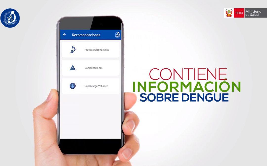 Unidad de Telesalud UNMSM colabora en diseño de aplicativo móvil Dengue Onqoy