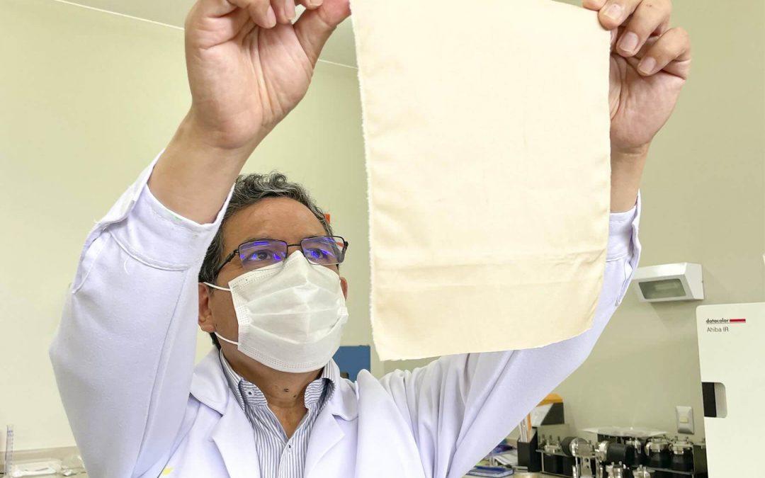 Científicos de la UNI fabrican textiles y calzado con propiedades antimicrobianas