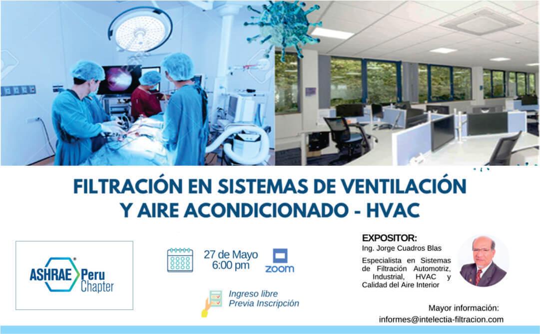 """Seminario: """"Filtración en Sistemas de Ventilación y Aire Acondicionado – HVAC"""""""