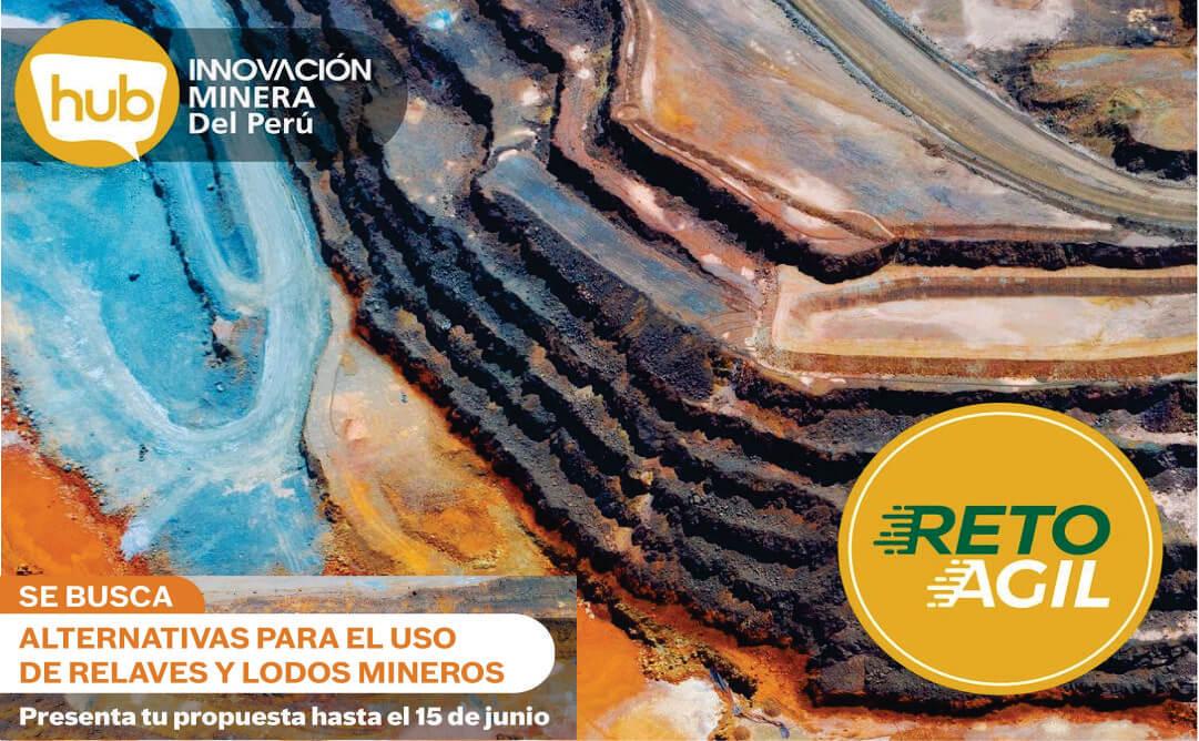 RETO ÁGIL: Revalorización de relaves y lodos